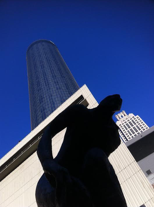 Lurking behind Plaza by Kelly Jordan