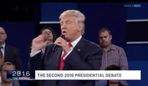 Trump/Clinton debate, 10/9/2016