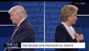 Trump, Clinton, Debate, 10/9/2016