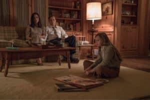 American Pastoral, living room