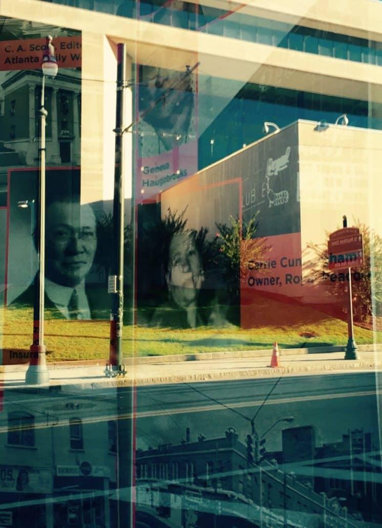 Looking into APEX Museum by Kelly Jordan