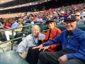 A.D. Frazier, Jimmy Carter, Rosalyn Carter