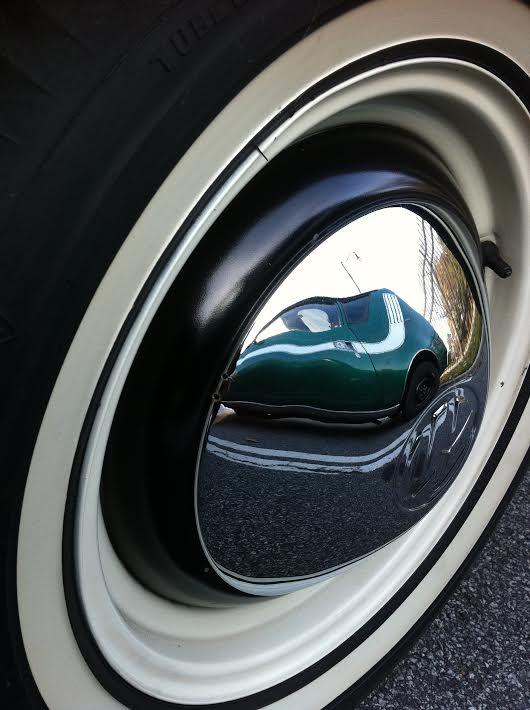 Spotting a Gremlin in a VW by Kelly Jordan