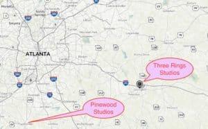 studios locator map