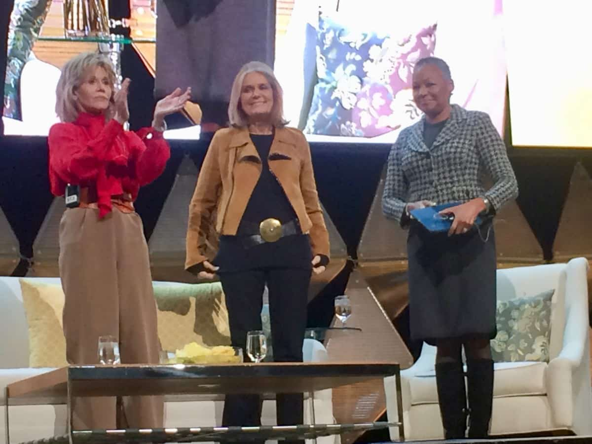 Jane Fonda, Gloria Steinem, Lisa Borders