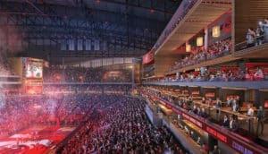 Rendering of new Philips Arena