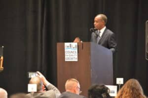 Michael Thurmond at Council for Quality Growth