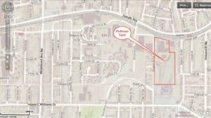 Pullman Yard, map