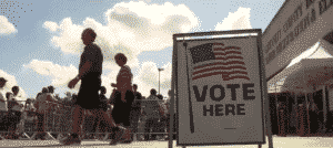 Voter lines