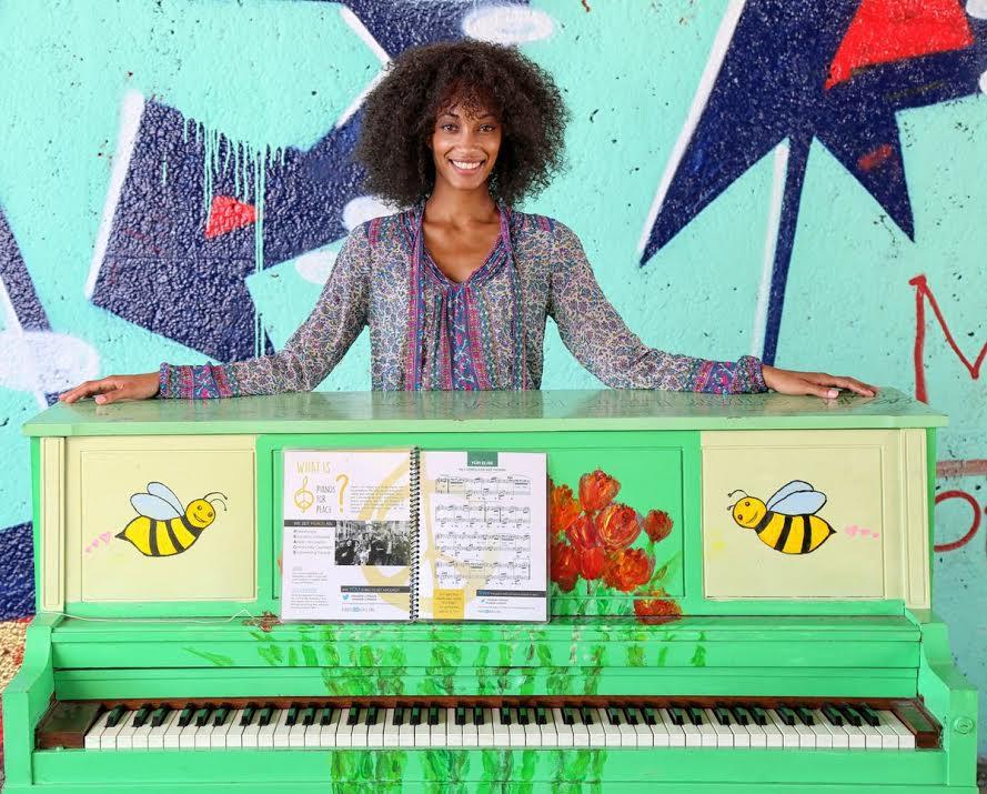 Piano for Piece at Atlanta BeltLine by Kemet Alston