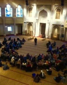 Atlanta mosque, prayer hall