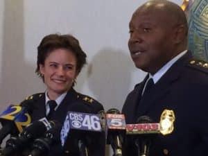 Police Chief Erika Shields George Turner