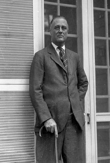 Franklin Delano Roosevelt. Courtesy of Georgia Info, Digital Library of Georgia
