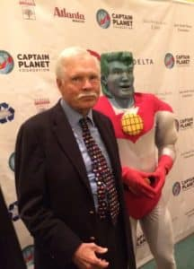 Captain Planet Ted Turner