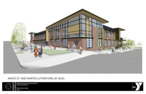 YMCA of Metro Atlanta will build a new headquarters, conceptual drawing seen here, on the Westside.