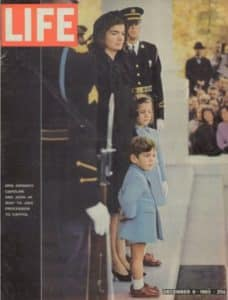 Jacqueline Bouvier Kennedy famously told prize-winning journalist Theodore H. White in an interview for Life Magazine: 'They'll interpret my silence however they want.' Credit: time.com