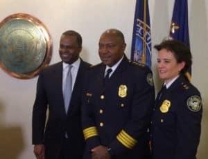 Erika Shield Mayor Reed Chief Turner