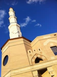 Atlanta mosque, minaret