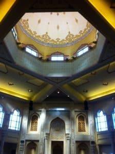 Atlanta mosque, dome