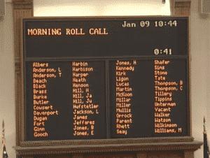Georgia senate, 1