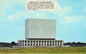georgia archives building