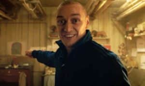 In 'Split,' the kidnapper played by James McAvoy) has a multiple personality disorder and has 23 personalities, all of them vying for their moment in the spotlight. Credit: firstshowing.net