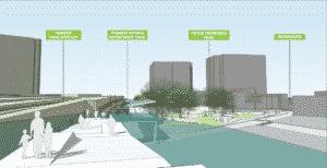 Newark's planned linear park