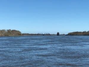 Apalachicola Northern Railroad bridge