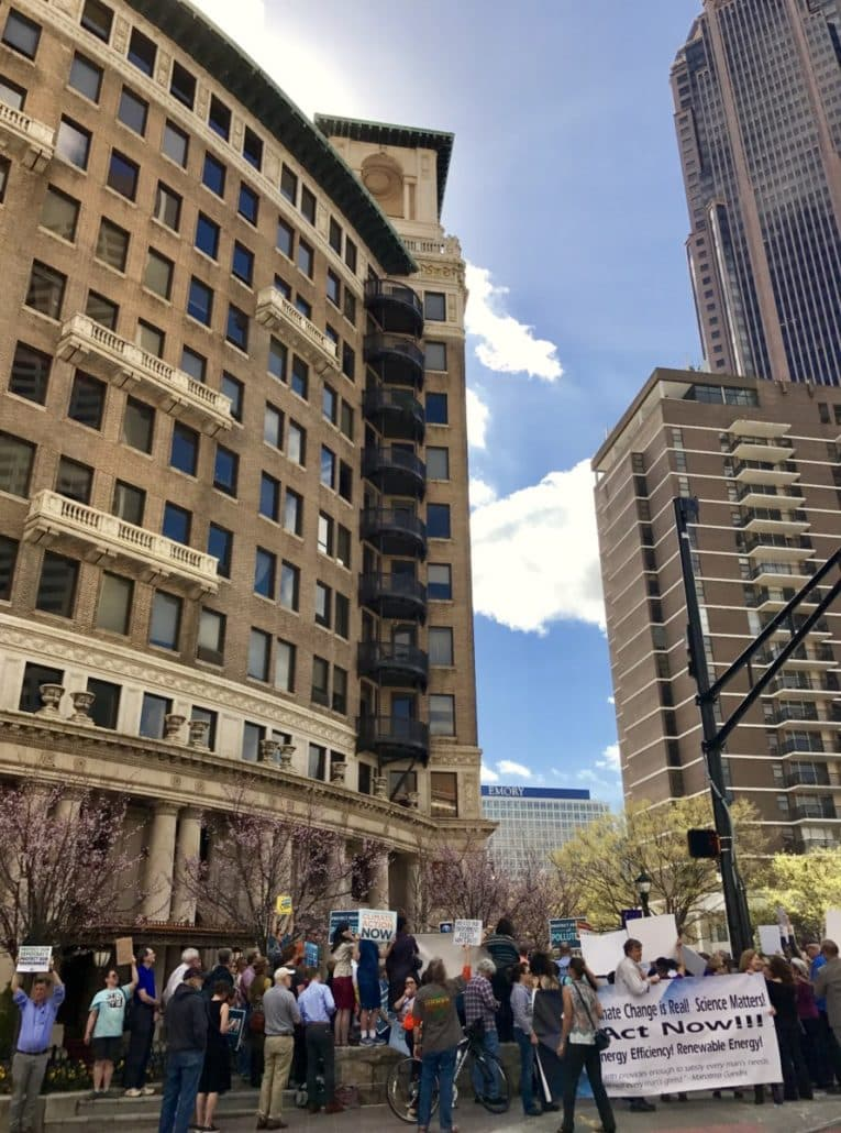 Sierra Club rally to support EPA 2/24