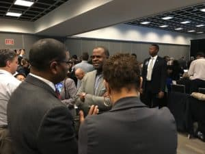 Tracy and Kasim Reed
