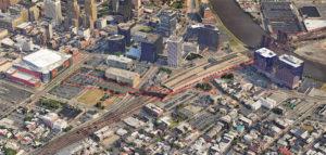 Newark's planned walking path