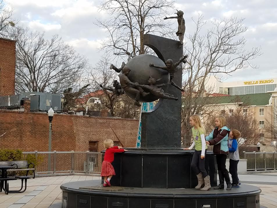 Hope by Steve Saenz taken at the Decatur Square