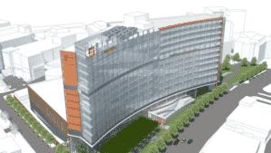 Piedmont Hospital rendering