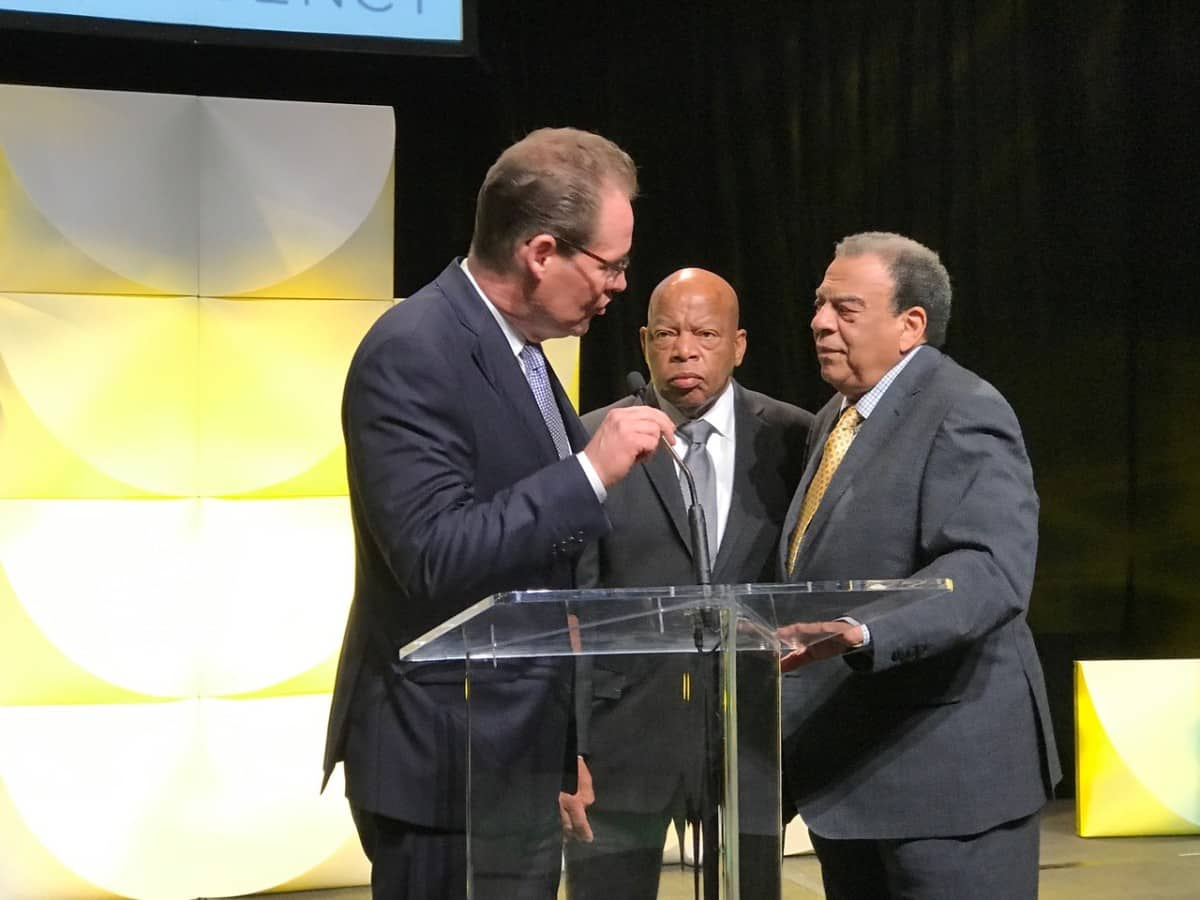 peter mcmahon john lewis andrew young
