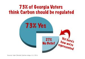 Georvia voters and their elected congressmen are starkly divided over proposals to regulate carbon. Special: Jeff Joslin