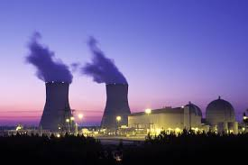 Plant Vogtle nuclear power plants 1 and 2. Currently Vogtle 3 and 4 are under construction (Photo from Wikipedia)