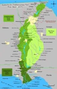ACF river basin, chattahoochee, apalachicola