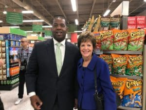 Ceasar Mitchell and Mary Norwood