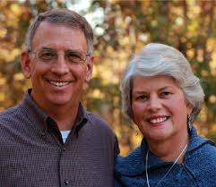 Ren Davis (pictured with wife Helen)