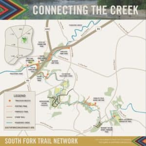 South Fork Conservancy, map
