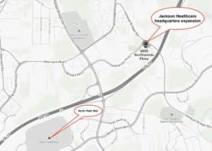 jackson healthcare locator map