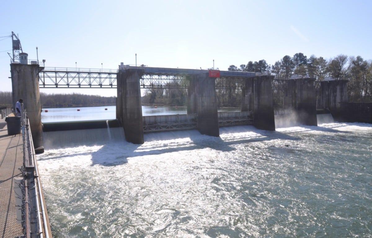 savannah lock, dam, final