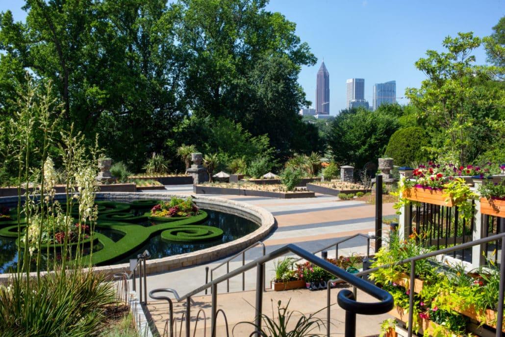 Bonnie Heath captures the new Skyline Garden at Atlanta Botanical Garden