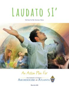 Laudato Si Action Plan, Cover, environment