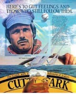 Ted Turner, America's Cup, gut feelings