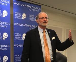 Charles Shapiro, president of the World Affairs Council of Atlanta