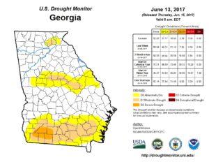 drought monitor, june 19, 2017