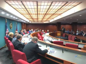 House Commission on Transit Governance and Funding meeting