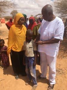 Joe Beasley, Somaliland woman, child