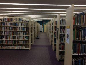 central libary, shelves